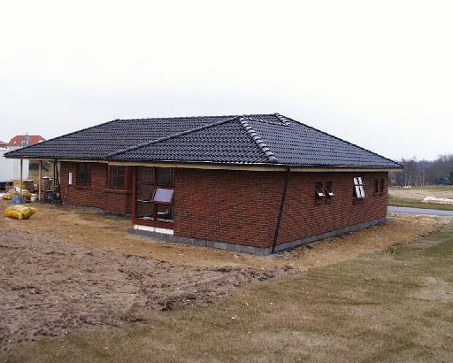 Foto af huset fra syd-øst