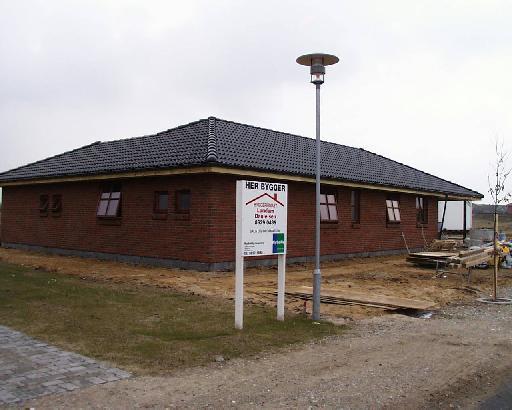 Huset set fra nord-øst