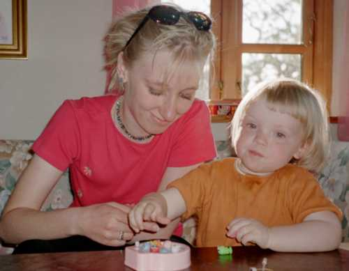 Kirsten og Frederikke