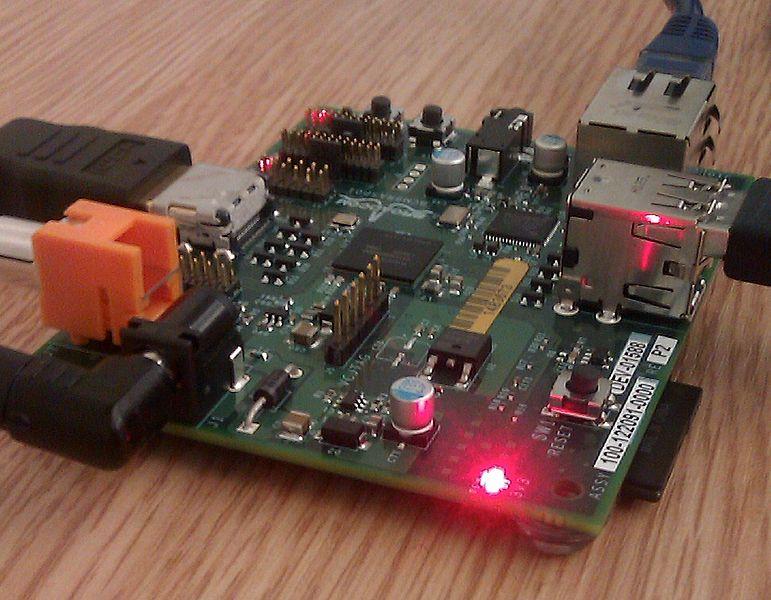 File:Raspberry Pi board at TransferSummit 2011 cropped.jpg