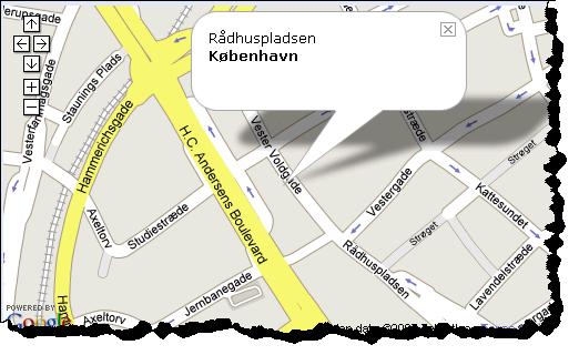 google map København
