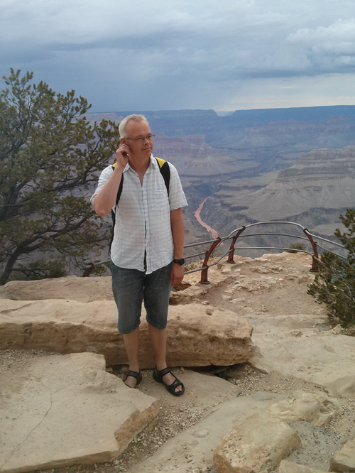 Jens i Grand Canyon 2013
