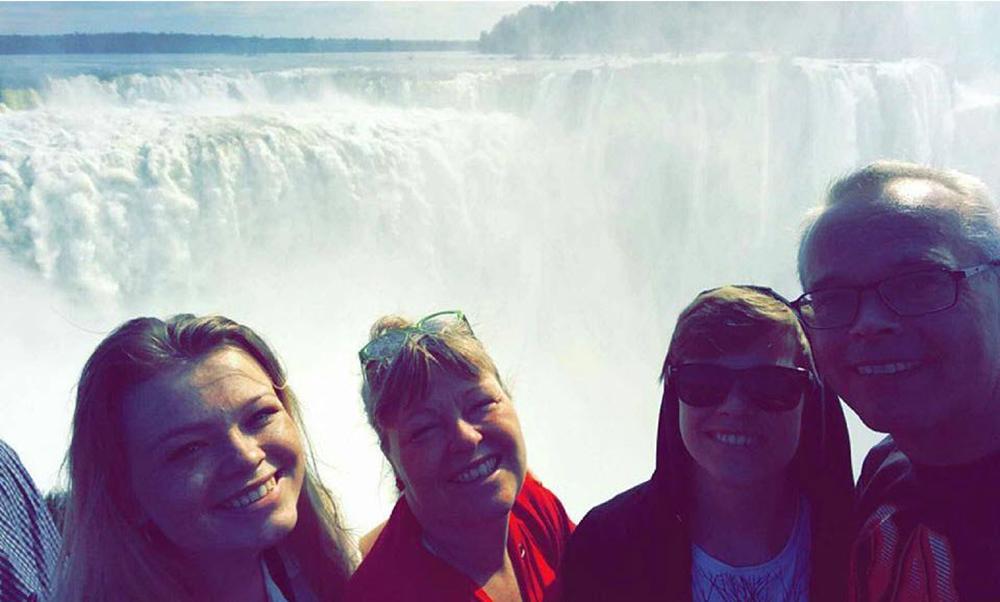 Argentina Iguazu vandfaldene