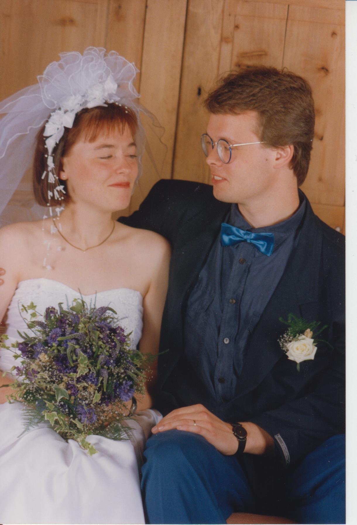Jens og Karen - bryllupsdag 1992